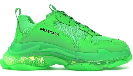 Tenis Balenciaga Neon Caballero