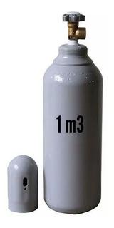 Cilindro Nitrogênio 1,0m3 (vazio) - 7lts.