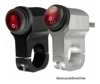 Interruptor Premium De Aluminio Para Neblineros De Moto