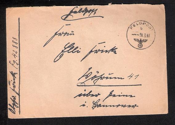 Alemanha- Datada 30.3.1943=correio Militar