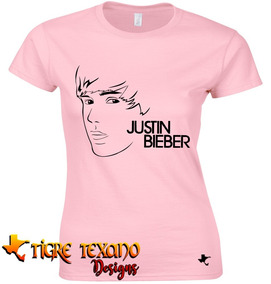 Playera Bandas Justin Bieber Mod. 02 By Tigre Texano Designs