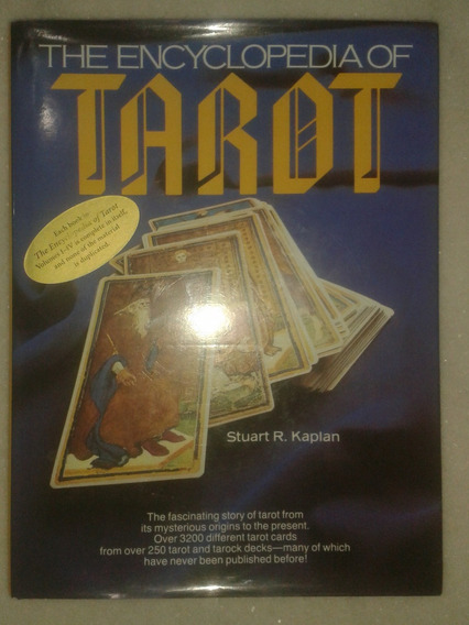 The Encyclopedia Of Tarot ( Enciclopédia Do Tarô ) S. Kaplan
