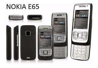 Celular De Slide De Abrir Nokia E65 Novo De Vitrine