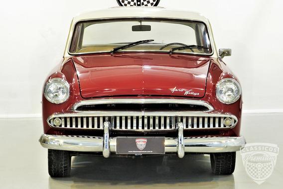 Aero Willys 1962 62 - Vermelho - Restaurado - Premium