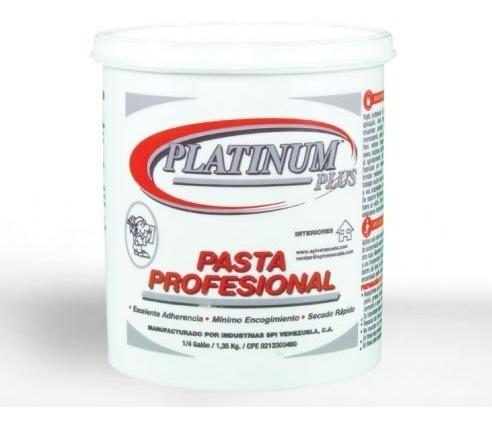 Pasta Profesional Platinum Plus (1/4 Galón)