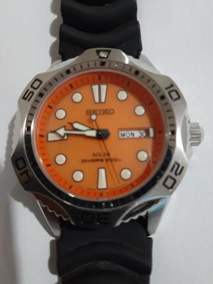 Relogio Seiko Solar Air Divers V158 0as9