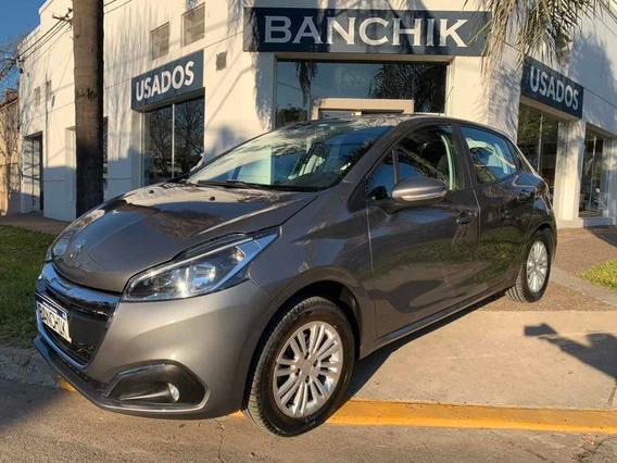 Peugeot 208 1.6 Allure 2017 Gol Corolla Banchik Auto Usado