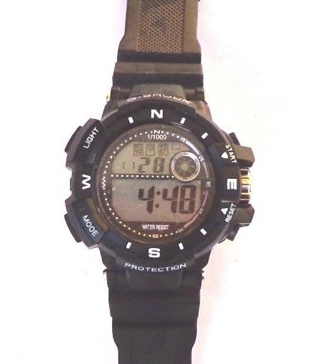 Relógio Masculino Militar Anti Shock Camuflado