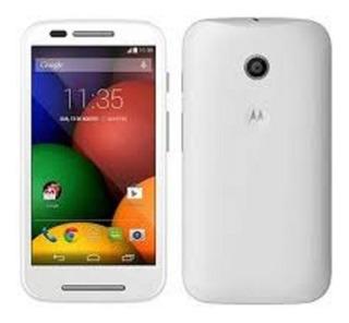 Moto E 4g 4gb Chip Claro Android 6 Blanco Simpe Sim Mp3 Mp4