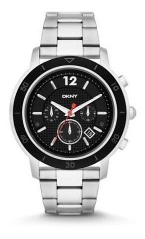 Reloj Dkny Cronógrafo Para Caballero Acero Ny2164