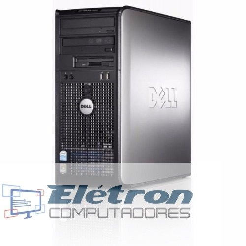 Lote 2 Torre Dell Optiplex Core 2 Quad Mem 4gb Ddr3 Hd250gb