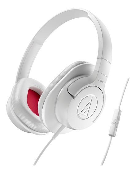 Fone De Ouvido Audio Technica Ath Ax1is Branco