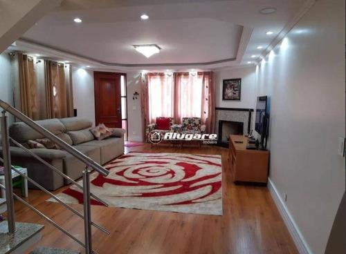 Sobrado Com 4 Dormitórios À Venda, 225 M² Por R$ 1.060.000,00 - Vila Rio De Janeiro - Guarulhos/sp - So0644