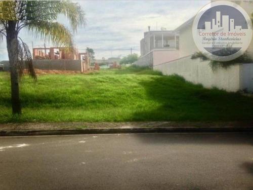 Terreno Com 360m2  Condominio Terra Magna Em Indaiatuba, Ótimo Condominio  Com Muita Area Verde - Te00020 - 68097462