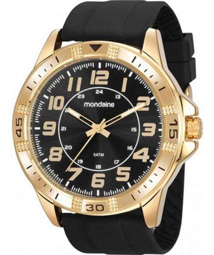 Relógio Masculino Analógico Mondaine Dourado 99431gpmvdi1