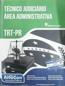 Trt-pr Técnico Judiciário Área Administr Vários