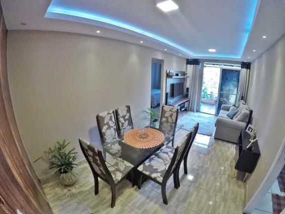 Lindo Apartamento Totalmente Reformado Em Condomínio Fechado Para Venda Em Mesquita - Pmap20096