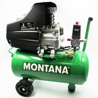 Compresor De Aire 24 Litros Montana