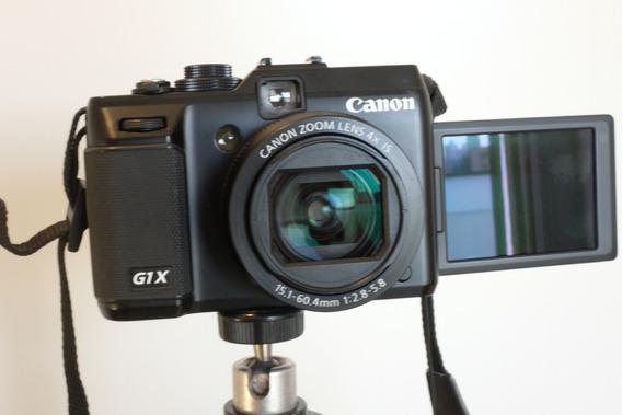 Canon G1-x Excelente Estado + Tripé + Correia
