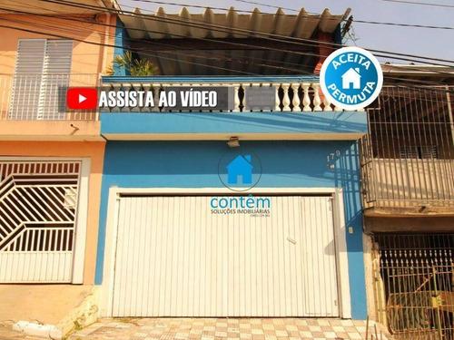 Sobrado Com 3 Dormitórios À Venda, 265 M² Por R$ 530.000,00 - Jardim D Abril - Osasco/sp - So0121