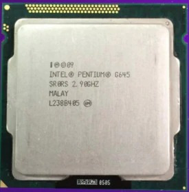 Processador Intel 1 Peca G645 E 5 Pecas G440 Lga 1155