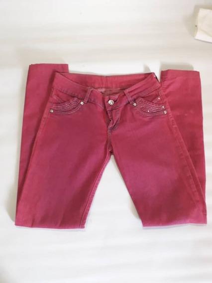 Pantalón Fucsia Para Dama O Niña Talla 16