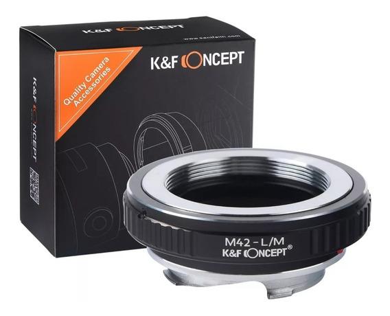 Adaptador K&f Lente M42mm P/ Camera Leica M240 M242 M10