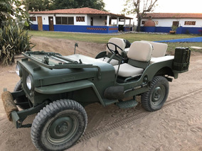 Jeep Willys Cj - 3a