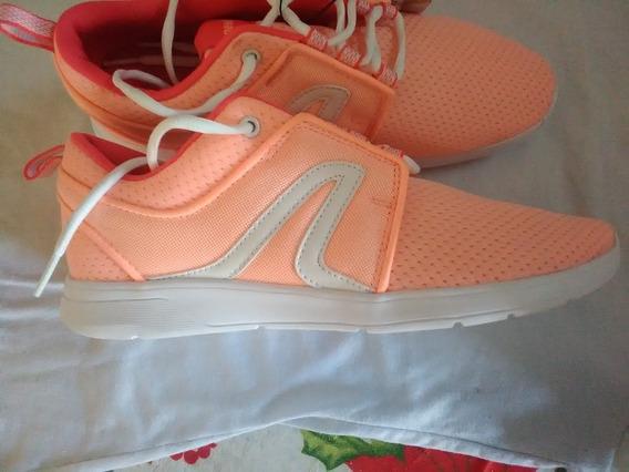 Zapato Bota Deportiva Dama Newfeel Talla 39 Oferta $15