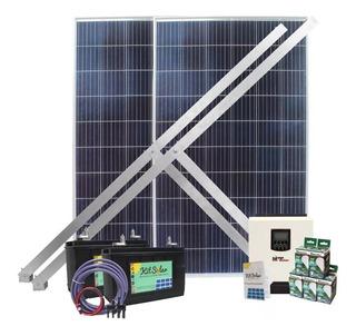 Kit Solar Para Casas Completo Paneles 270w Inversor 3000w 1s