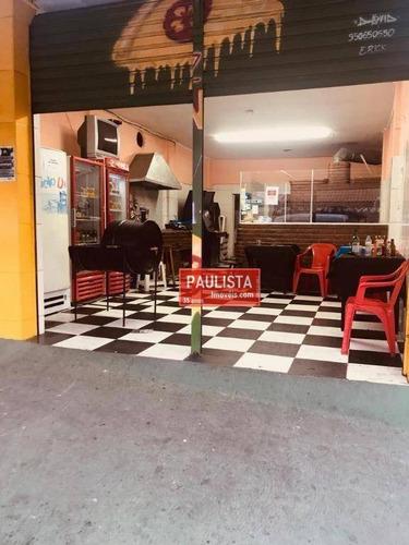 Imagem 1 de 17 de Salão / Loja / Armazém Para Alugar, 1 Cozinha, 1 Banheiro 84 M² Por R$ 1700/mês O Pacote- Socorro - São Paulo/sp. - Sl0124