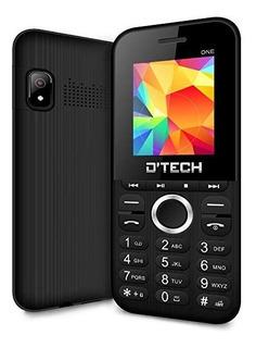 Teléfono Económico Barato D Tech Doble Sim Liberados Radio