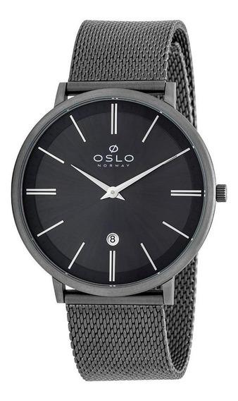 Relógio Pulso Oslo Slim Titânio Ombttsor0001 G1gx