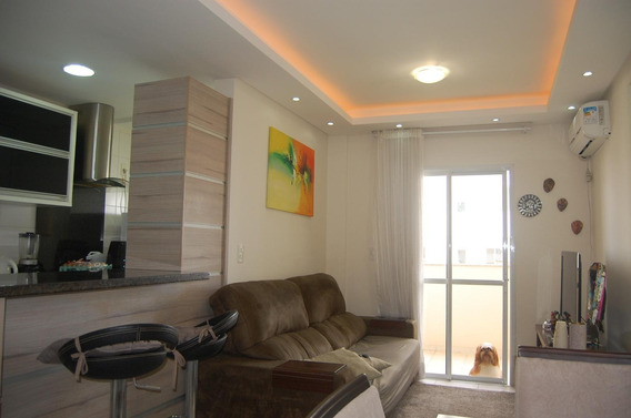 Apartamento Com 3 Dormitórios À Venda, 78 M² Por R$ 312.000,00 - Barreiros - São José/sc - Ap6422