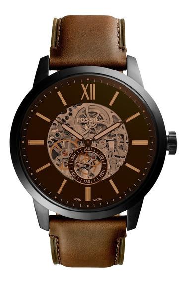 Relógio Fossil Automático Masculino Marrom Me3155/1mn