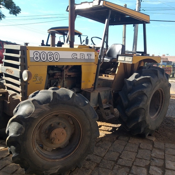 Trator Agricola Cbt 8060 4x4