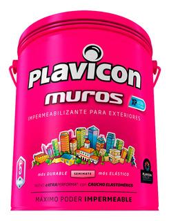 Plavicon Muros Xp Impermeable Plastico Ext Blanco Lata X5kgs