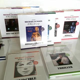 Colección De 10 Cds / Dvds De Michael Jackson + Libros