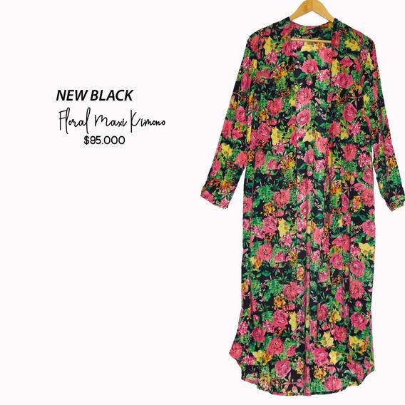 Kimono Floral Largo