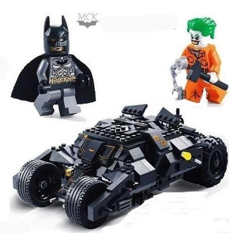 Batman Carro Tipolego Bloques Armar Armotodo 325 Pz Ref 7105