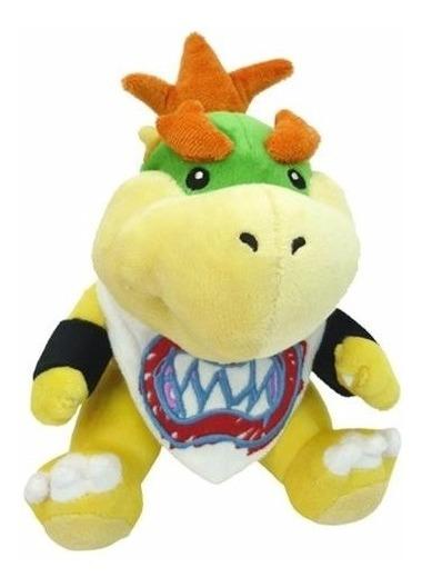 Pelúcia Bowser Jr. 22cms Koopaling - Mario Bros - Nintendo