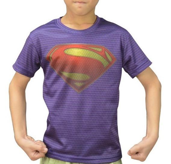Playera Superman Para Niños