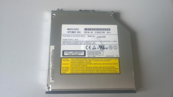 Gravador Cd Le Dvd Notebook Sony Vaio Pcg-691l - Semi-novo