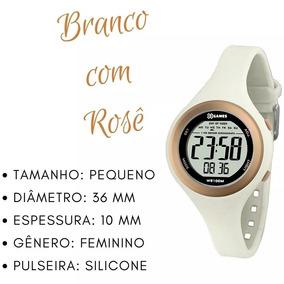 Relógio Feminino X Games Digital Branco E Rosê Xfppd036