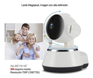 Cámara De Seguridad Para El Hogar Con Monitor De Bebé 720p