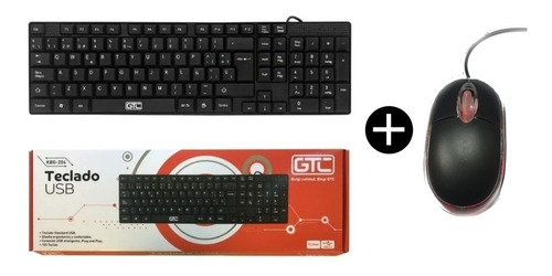 Combo Teclado Mouse Usb 2.0 Pc Notebook 800dpi