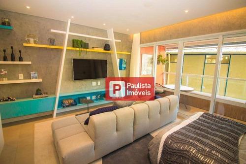 Apartamento Com 1 Dormitório À Venda, 42 M² - Campo Belo - São Paulo/sp - Ap27983