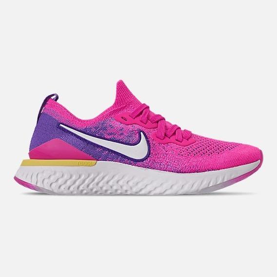 Tenis Nike De Mujer Epic React Flyknit 2 Correr Deportivos