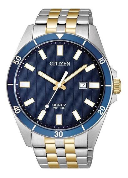 Relógio Citizen Masculino Prata Tz31114a Visor Azul