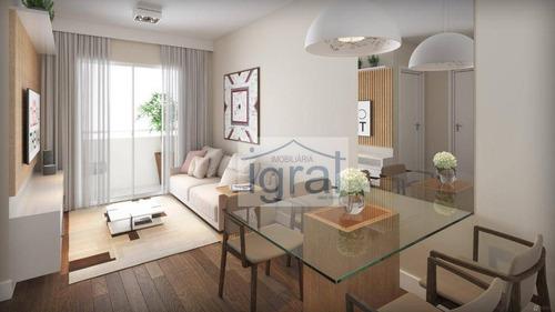 Apartamento À Venda, 38 M² Por R$ 245.000,00 - Jardim Oriental - São Paulo/sp - Ap1289